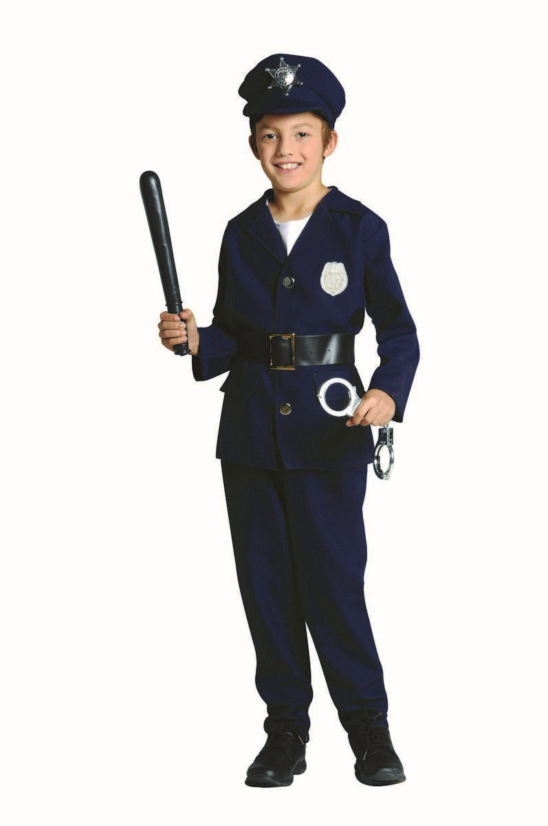 Police officer costumes costumes fc - Police officer child costume ...