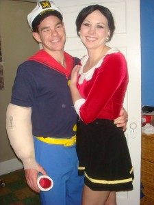 Popeye and Olive Oyl Costume