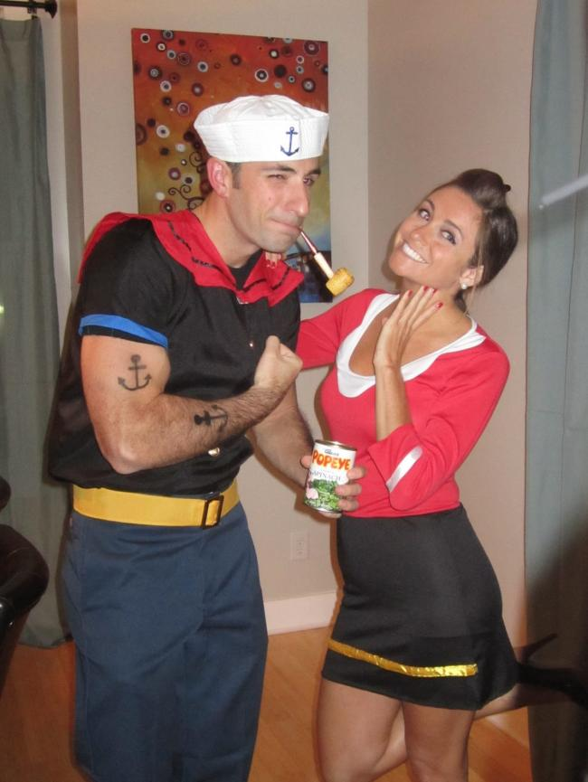 Olive oyl costume costumes fc popeye and olive oyl costumes solutioingenieria Choice Image