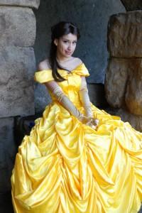 Princess Belle Costume Teenagers