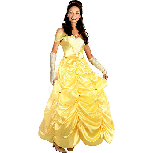costume belle Disney adult