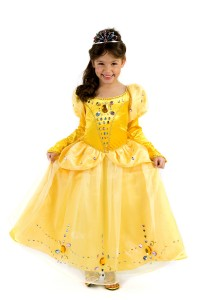 Princess Belle Costume for Girls