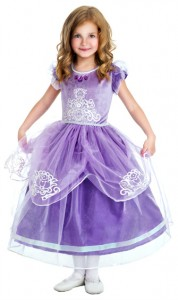 Princess Sofia Costume for Girls