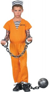 Prisoner Costume Kids