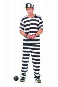 Prisoner Costume Men
