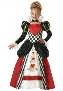 Queen of Hearts Costume Kids