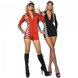 Race Car Driver Costume Women