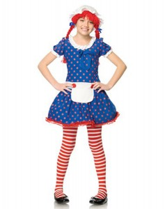 Rag Doll Costume for Girls