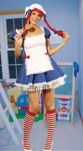 Rag Doll Costumes for Women