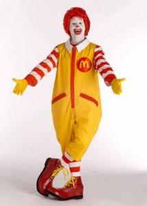 Ronald Mcdonald Costume for Man