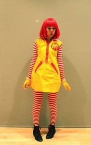 Ronald Mcdonald Costume for Women