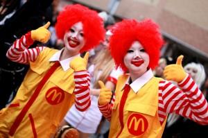 Ronald Mcdonald Costumes