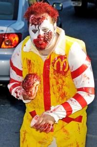 Ronald Mcdonald Halloween Costumes