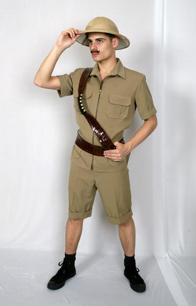 Safari Hunter Mens Costume