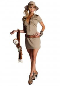 Safari Girl Costume
