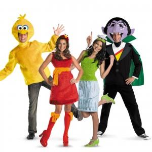Sesame Street Characters Costumes