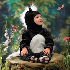 Skunk Toddler Costume