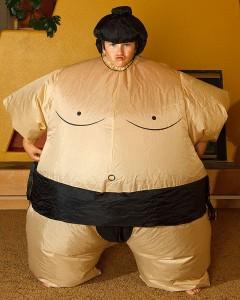 Sumo Wrestler Costume Kids
