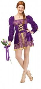 Tangled Rapunzel Costume Women