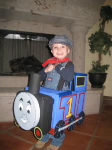 Thomas the Train Child Costume