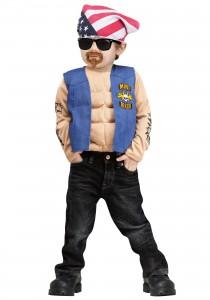 Toddler Biker Costume