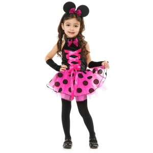 Toddler Girl Minnie Mouse Costume