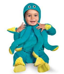 Toddler Octopus Costume