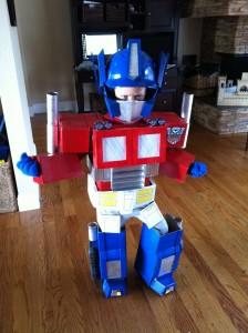 Toddler Optimus Prime Costume