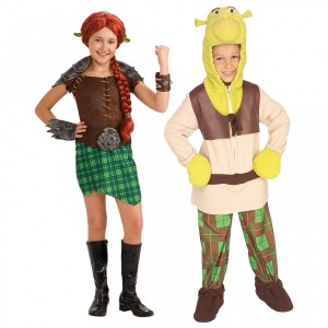 Toddler Shrek Costume