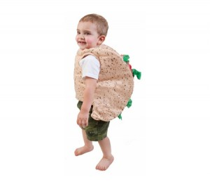 Toddler Taco Costume