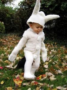 Toddler White Rabbit Costume
