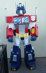 Transformer Optimus Prime Costume