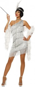 White Flapper Dress Costume