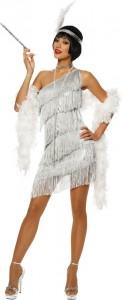 White Flapper Dress Costume