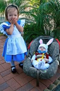 White Rabbit Baby Costume
