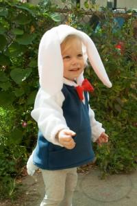 White Rabbit Costume Kids