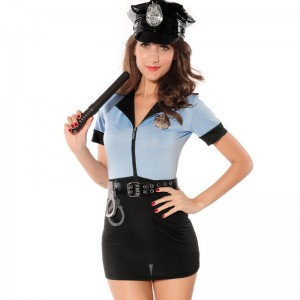 Woman Police Officer Costume