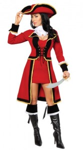 Women Captain Morgan Costumes