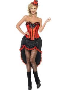 Women Moulin Rouge Costume
