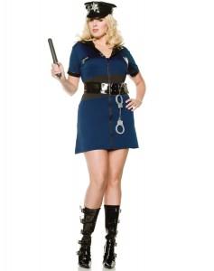 Women Police Officer Costume