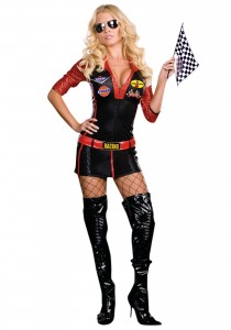 Women Race Car Driver Costume
