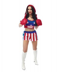 Womens Boxer Costume