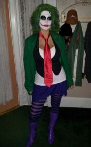 Womens Joker Costume