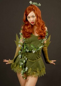 Womens Poison Ivy Costume