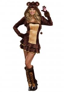 Womens Teddy Bear Costume