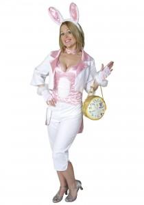 Womens White Rabbit Costume
