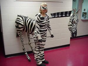 Zebra Costume for Women