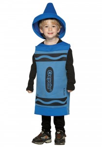 Blue Crayon Costume
