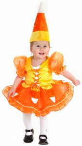 Candy Corn Baby Costume