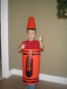 Crayon Costume Ideas